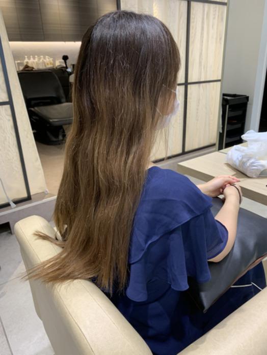 フォギーベージュで夏らしくかわいい髪色に☆☆_20200726_2