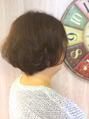 再現性を考えたヘアスタイル