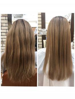 ロングハイトーンに髪質改善2回目_20191202_1