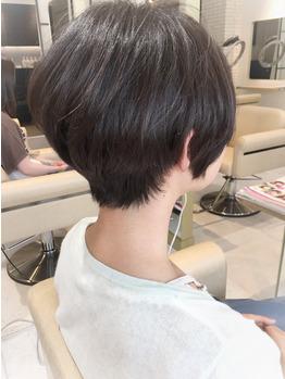 大人女性ショートヘア☆【絶壁解消!ショートボブ】_20180903_1