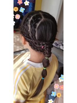 子供の髪 簡単 アレンジ!!!_20200908_3