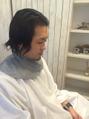 工藤さんの散髪