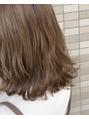 スピンヘアフラッフィ(Spin hair fluffy)春ベージュカラー