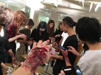 メイク講習〜ハロウィン編〜_20161018_1