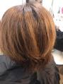 ホリスティックカラーで、艶髪!