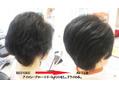 髪質改善+リタッチカラー