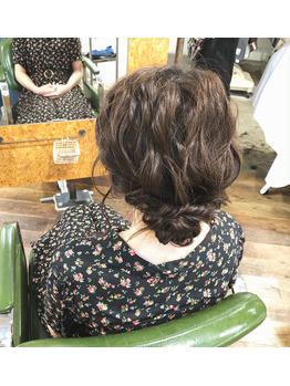ナチュラルなヘアセット・ヘアアレンジ_20190926_2