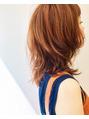 プレディカ(pledica)オレンジカラーandマッシュミディアム。