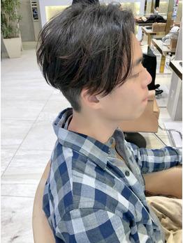 ツーブロックメンズ、表参道で人気の髪型!!_20210427_3