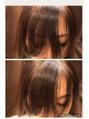 【浅賀有環】割れ癖の強い前髪カット!