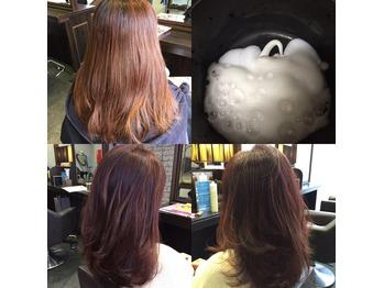 ★髪質改善通信188・Roaカラーで春先取りカラー★_20160220_1