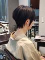 【ヘアスタイル】黒髪でもふんわり☆