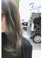 退色して黄色くパサつきが気になる髪にオススメカラー