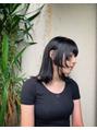 oguma hair /顔まわりデザインカット