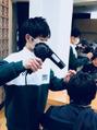 ★小さな美容師さん★