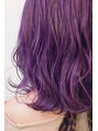 ダブルカラー purple pink