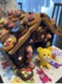 お菓子のお家を作ったよ