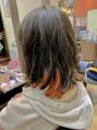 フィールエー レキシントンプラザ店(feel.a)自毛を活かすならインナーカラー!
