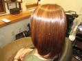 【白髪もツヤ髪♪】髪質改善カラー+カット¥9900