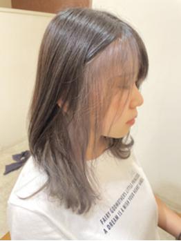 【半田さん染めたよ☆】下野市 自治医大 シェイプス(Shapes hair design)