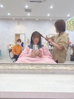 スタイリストデビューーー!!川村Asami_20200518_2