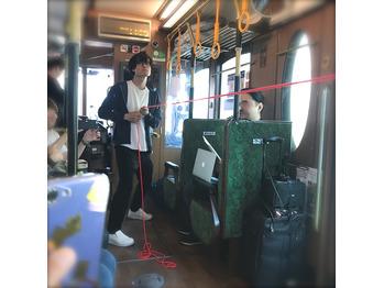 『 ゼロコ 都電荒川線ライブ そうこうしている』に◎_20180428_3