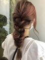 ルララドゥ三つ編みヘアアレンジ