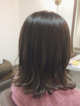 イルミナ☆ブルーアッシュ+インナーカラー_20161223_1