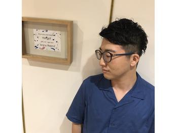 黒髪×パーマ×「?」_20190818_2