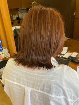 黒髪卒業式×ピンクベージュ☆_20210925_1