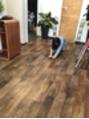 床ふき掃除