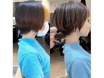 他のサロンで失敗されたショートヘアを大変身させます_20200809_1
