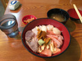 海鮮丼食べたい
