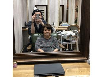 祖母がお店に来てくれました^ ^_20200710_1