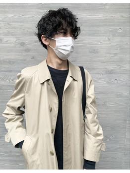 【さいたま市 浦和】メンズスタイル/パーマ/籠谷那奈_20210406_1