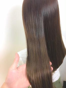 【植原健太】サラツヤ髪に♪ナチュラルストレート