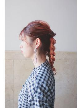 【 サロンスナップ 】オレンジヘア×ヘアアレンジ_20200916_1