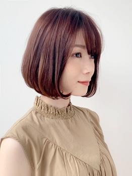 大人カワイイ上品ボブスタイル!デジタルパーマ_20190731_2
