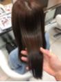 髪質改善で極上の手触りと柔らかさを