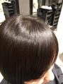 ☆髪質改善!弱酸性縮毛矯正×ボブ×ツヤ☆