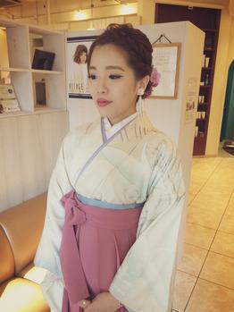 ピンクの袴可愛いーーー!