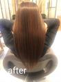 サラサラ髪