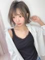 ◆イマドキなふんわり前髪+明るめアッシュ☆◆