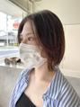 YUKI__タッセルボブ×センター分け