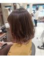 秋髪イルミナカラー