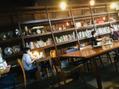 入谷のカフェにて