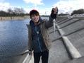 ニジマス釣り in 田中裕彬