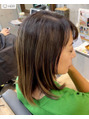 トータルビューティーステラ(TOTAL BEAUTY STELLA)明るめの白髪染め^_^白髪ぼかしハイライト^_^