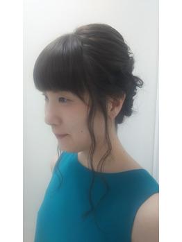 結婚式アップスタイル☆_20180425_1