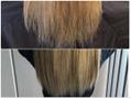 ブリーチ毛でも髪質改善サイエンスアクアでサラツヤ